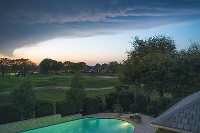 飓风尼古拉斯在德克萨斯州占地面积