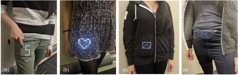 Smart displays that show information through fabric may be the next wave of wearable tech